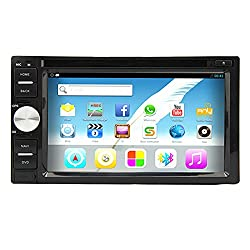 See Pupug Android 4.2 Capacitive Touch Car Video GPS Navi DVD Player In Dash Stereo Radio Universal 2 DIN WiFi Details