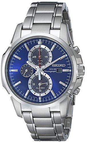 Seiko Men's SSC085 Chronograph-Solar Classic Solar Watch