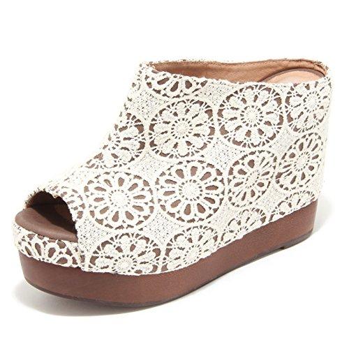 4376M sandali zeppe donna JEFFREY CAMPBELL virgo women sabot shoes sandals [41]