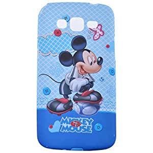 Smart Fox Soft Back Cover Fun Loving Micky Mouse for Lenovo A-6000 Printed