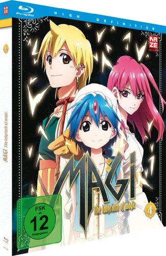 Magi - The Labyrinth of Magic, Blu-ray