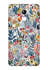 Coolpad Note 3 Perfect fit Matte finishing Motif Pattern Mobile Backcover designed by Aaranis (Multicolor) Perfect fit Matte finishing Vintage Floral Pattern Mobile Backcover designed by Aaranis (Multicolor)