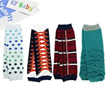 KF Baby Cozy Soft Leg Warmers [Set of 4 Pairs]