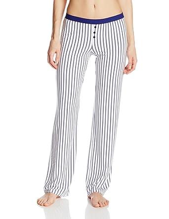 Splendid Women's Summer Pant, Navy White Rope Stripe, Small