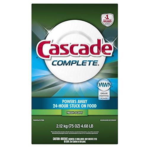 Cascade Complete Powder All-in-1 Dishwasher Detergent, Fresh - 75 oz (Cascade Dishwashing Powder compare prices)