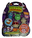 Moshi Monsters Halloween Moshlings 5 Pack - Rocky, Squidge, DJ Quack, Coolio & Surprise Figure
