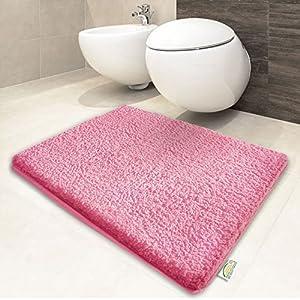 Tapis salle de bain rose pale - Tapis salle de bain rose ...
