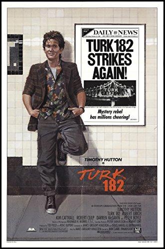 Original 1985 Turk 182 Movie Poster