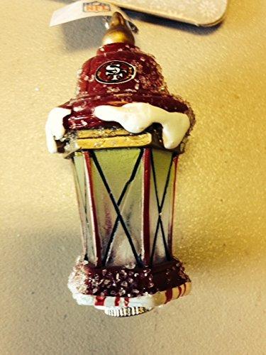 San Francisco 49ers Light up Lantern Ornament