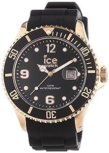 Ice-Watch Unisex - Armbanduhr Ice Style Analog Quarz Silikon IS.BKR.B.S.13