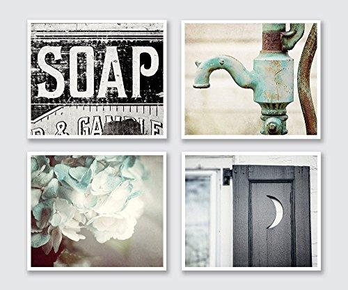 Bathroom Decor Set of 4 Photographs - 20%