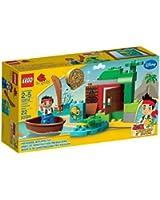 Lego Duplo Jake et les Pirates du Pays Imaginaire - 10512 - Jouet de Premier Age - La Chasse au Trésor de Jake