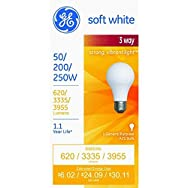 GE Lighting 97482 3-Way Light Bulb-50/250W SW 3-WAY BULB