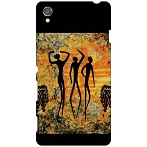 Sony Xperia T3 D5102 Back Cover - Dancing Designer Cases