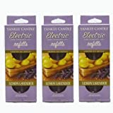 Yankee Candle - 3x Lemon Lavender Electric Plug-In Refill Twin Pack (6 Refills In Total)