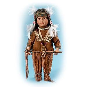 Native American-Style Porcelain Tonda Doll by Ashton Drake