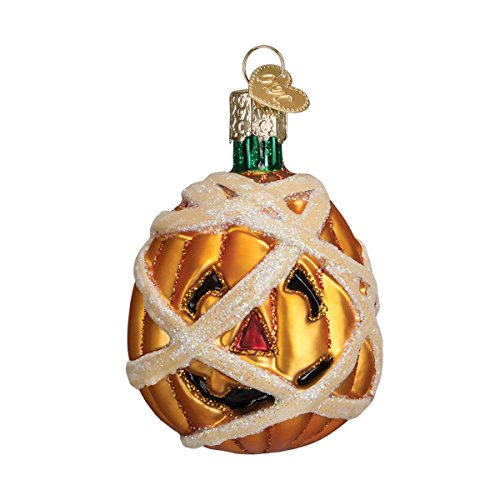 Old World Mummy Pumpkin Ornament
