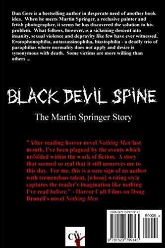 Black Devil Spine: The Martin Springer Story
