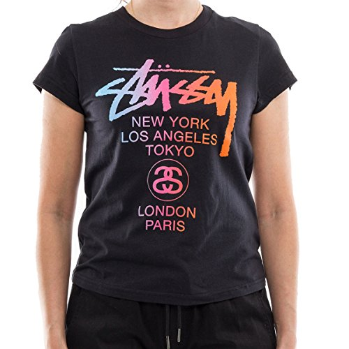 fec8525d1e5 ステューシー)Stussy レディースTシャツ半袖STUSSY WT FADE BABY TEE (2 ...