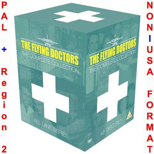 The Flying Doctors - Complete Series 1-9 Collection (All 221 Original Uncut Episodes) [NON-U.S.A. FORMAT: PAL + Region 2 + U.K. Import] (The Originals Season 2 Episode 7 compare prices)