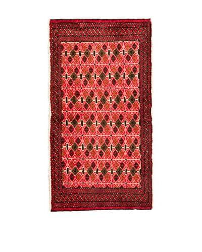 RugSense Alfombra Persian Kelat Rojo/Multicolor 112 x 56 cm