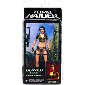 Player Select Tomb Raider Laura Croft Action Figure