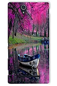 IndiaRangDe Hard Back Cover FOR Sony Xperia C3