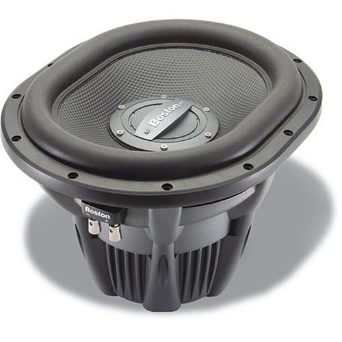 "Spg555-4 - Boston Acoustics 13"" 1000 Watt Single 4-Ohm Spg Series Car Subwoofer"