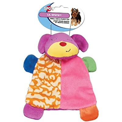 Spot Lil Spots Plush Blanket Toys for Small Dogs and Puppies Assorted