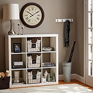 Better Homes And Gardens 9 Cube Organizer Storage Bookcase Bookshelf Multiple Colors