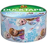 Shurtech 283420 Duck Disney-Licensed Tape -Frozen,in featuring Anna and Elsa - 1.88in Width x 30 ft Length - Easy Tear - 1 Roll