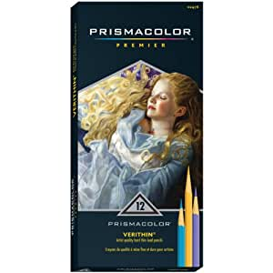 Amazon.com: Sanford Prismacolor Verithin Colored Pencils, Assorted