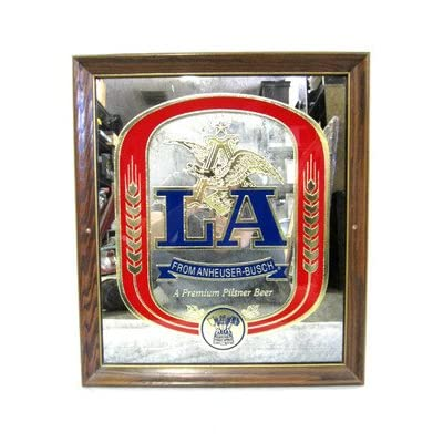 Amazon.com : Vintage Budweiser Anheuser-Busch LA Pilsner Beer Bar