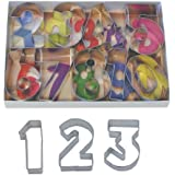 R & M Number 9 Piece Cookie Cutter Set