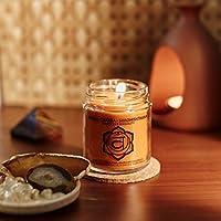 Resonance Meditation Candles - Sacral Chakra Natural Wax Medium Jar Candle