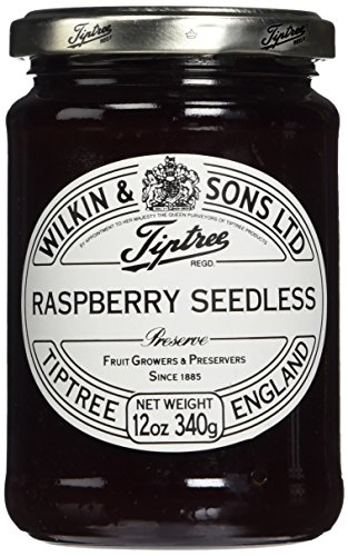Tiptree Jams Raspberry Seedless Preserve 12oz (Pack of 2)