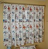 Roald Dahl George's Marvellous Medicine Curtains - 100% COTTON - UK Made