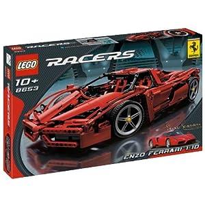 lego racers 8653 enzo ferrari toys games. Black Bedroom Furniture Sets. Home Design Ideas