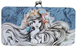 Little Mermaid Ariel Disney Cartoon Embroidered Hinge Wallet