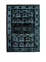 CarpeTrade Alfombra Persian Vintage (Azul/Negro)
