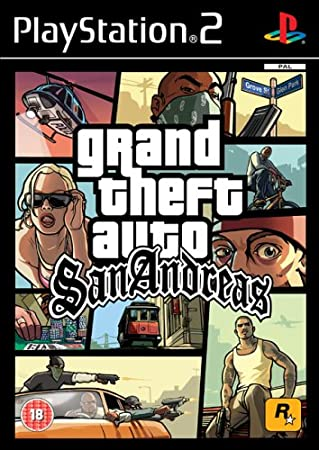 Grand Theft Auto: San Andreas (PS2)