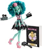Mattel Monster High BLX04 - Licht aus Grusel an Deluxe Honey Swamp, Puppe mit Zubehör