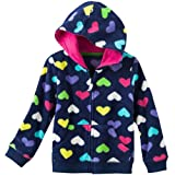 Carters Girls 4-6X Heart Microfleece Hoodie