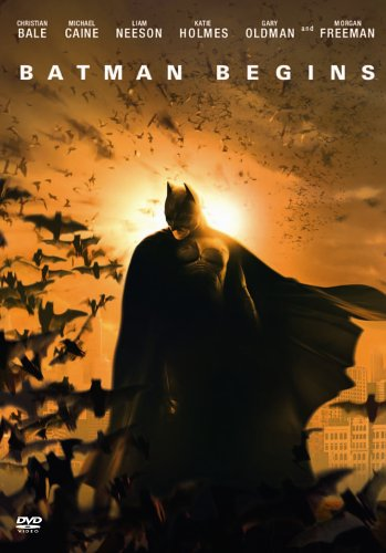 Batman Begins - 1 Disc Edition [DVD] [2005]