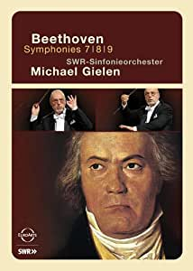 Beethoven - Symphonies 7 8 & 9 / SWR Sinfonieorchester/Michael Gielen [DVD] [Import]