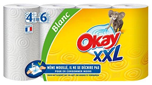okay-xxl-essuie-tout-blanc-x-4-rouleaux-lot-de-2