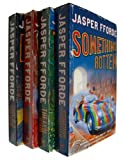 Jasper Fforde Jasper Fforde - Thursday Next Series 4 books: The Eyre Affair / Lost In a Good Book / Well Of Lost Plots / Something Rotten