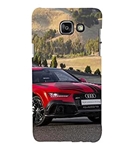 Vizagbeats Audi Car Back Case Cover for SAMSUNG A5 2016