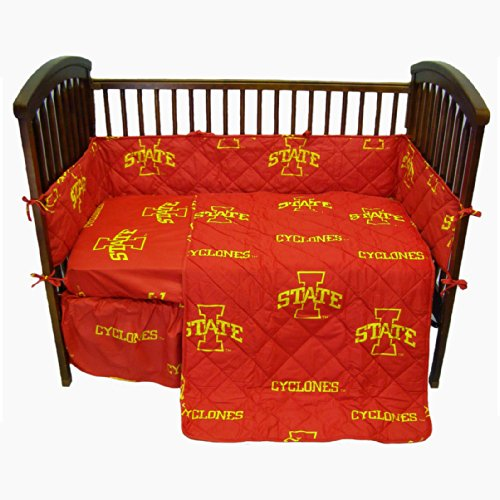 College Covers Iowa State Cyclones 5 Piece Baby Crib Set