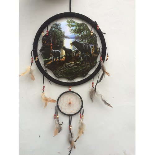 BEAR-FAMILY-DREAM-CATCHER
